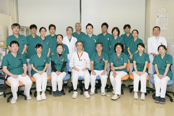 臨床検査技術科集合写真