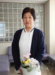 京都市立京北病院看護部長の写真