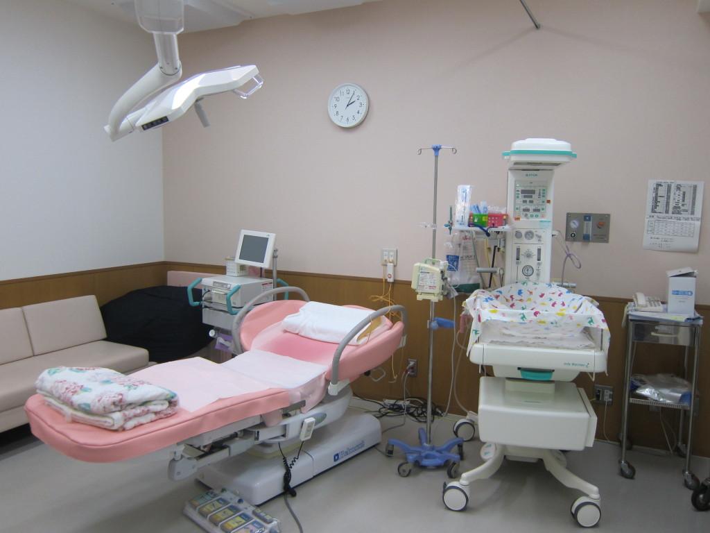 分娩室の様子