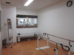 リハビリルームの写真