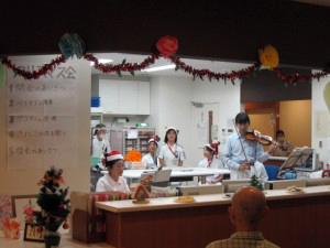 クリスマス会の写真1