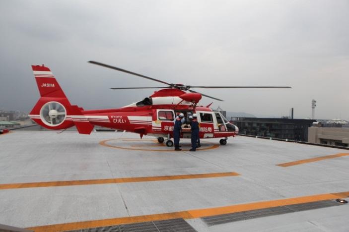 ヘリポート写真