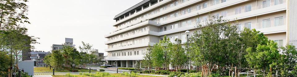 京都市立病院外観写真