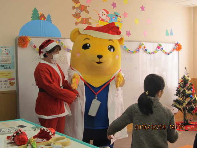 小児科病棟 クリスマス会のようす