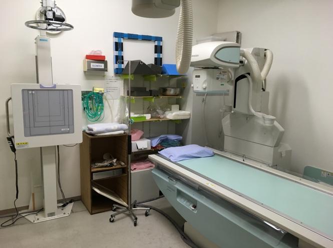 救急専用一般撮影装置の写真