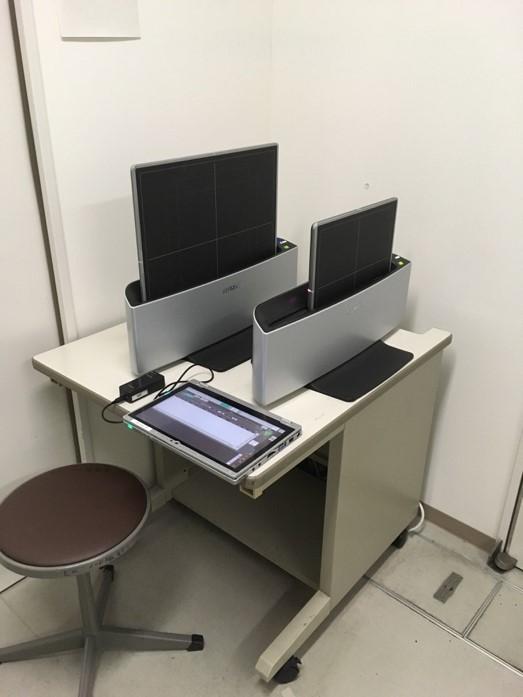 ポータブル・一般撮影用フラットパネルシステムの写真